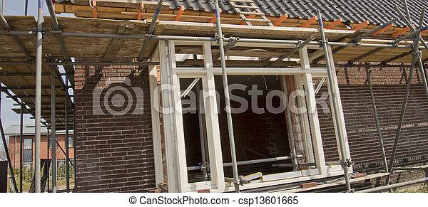Construcción de casas - csp13601665
