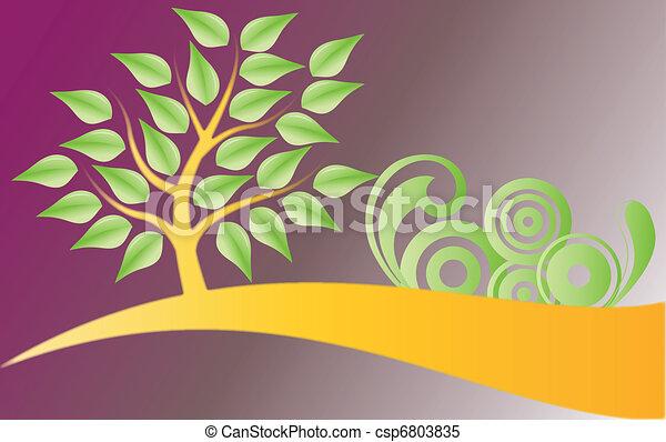 albero, decorazioni - csp6803835