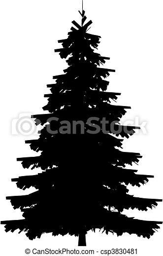 albero, (vector) - csp3830481