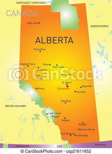 Alberta province - csp21611652