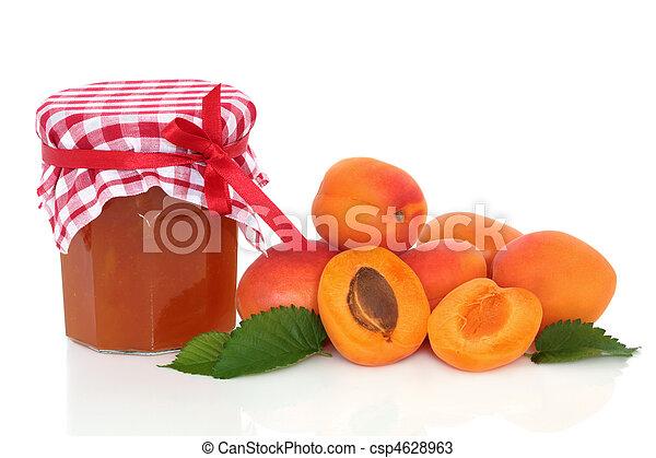 albicocca, marmellata - csp4628963