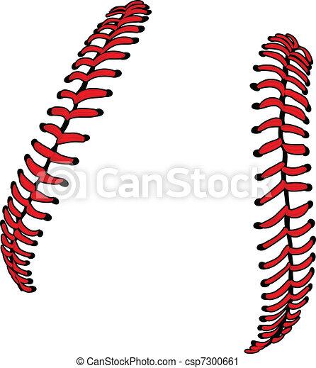 albo, baseball, ve, koronki, softball - csp7300661