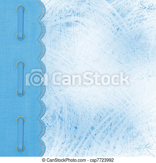 Album for photos on the abstract floral background  - csp7723992
