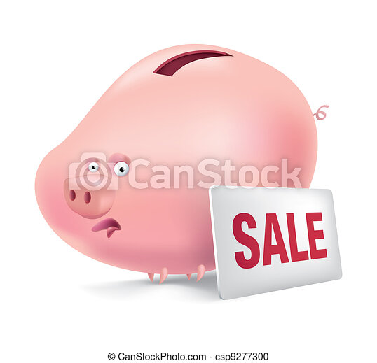 Piggy-bank - csp9277300