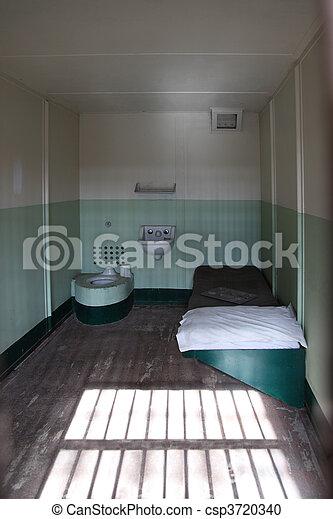 Alcatraz Island Prison Cell - csp3720340