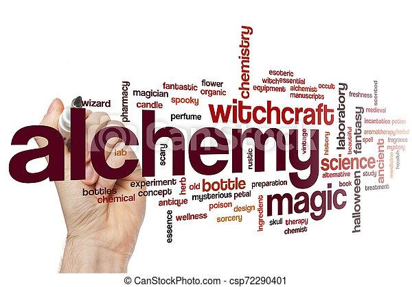 Alchemy word cloud - csp72290401