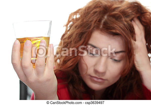 Alcohol addiction - csp3639497