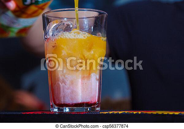 alcohol drink - csp56377874