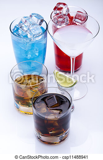 Alcohol drink  - csp11488941