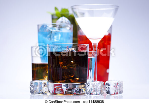 Alcohol drink  - csp11488938