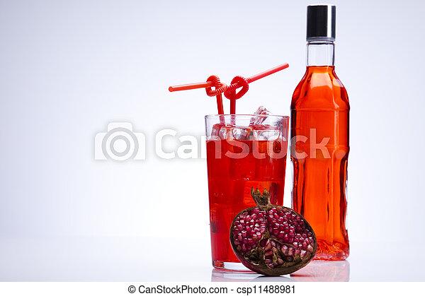 Alcohol drinks - csp11488981