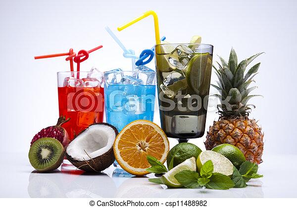 Alcohol drinks - csp11488982