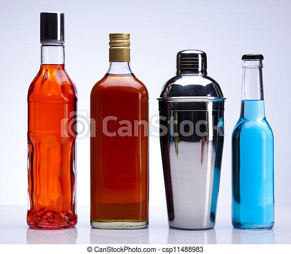 Alcohol drinks - csp11488983
