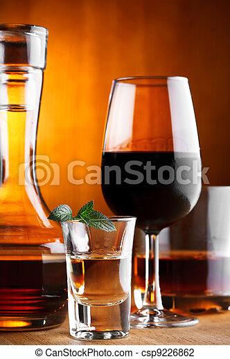 alcohol drinks - csp9226862
