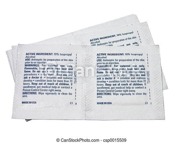 Alcohol Prep Pad - csp0015509