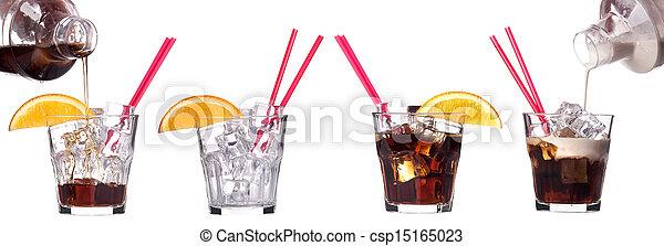 alcoholic cocktail set - csp15165023