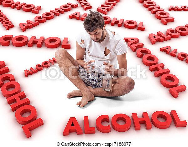 Alcoholic - csp17188077