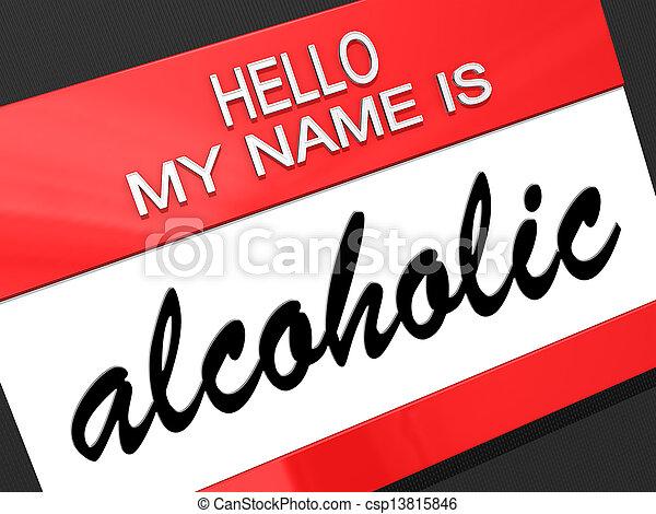 Alcoholic - csp13815846