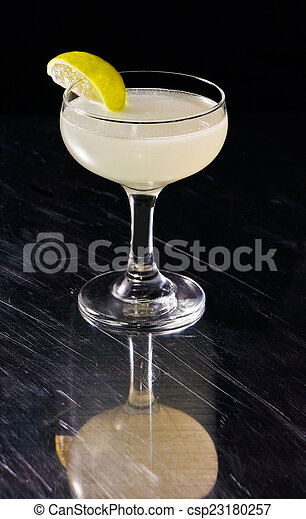 Alcoholic summer cocktail - csp23180257