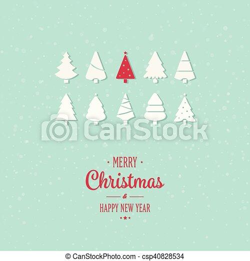 Feliz Navidad - csp40828534