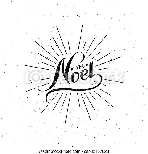 Feliz Navidad. Joyeux noel - csp32167623