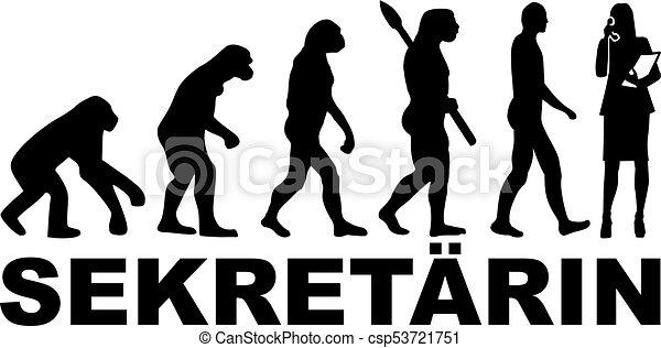 Secretario Evolucionario telefoneó a Alemania - csp53721751