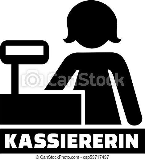 alemão, trabalho, ícone, caixa, título - csp53717437