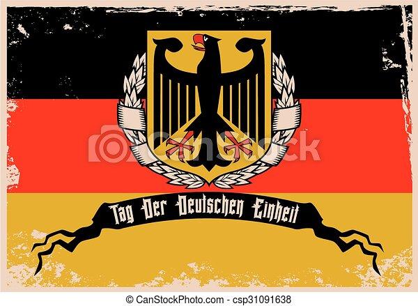alemão, unidade, dia - csp31091638