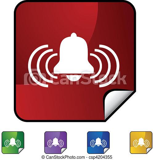 Alert Bell - csp4204355