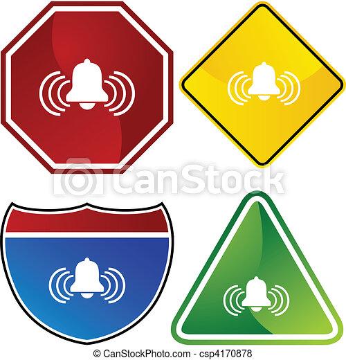 Alert Bell - csp4170878