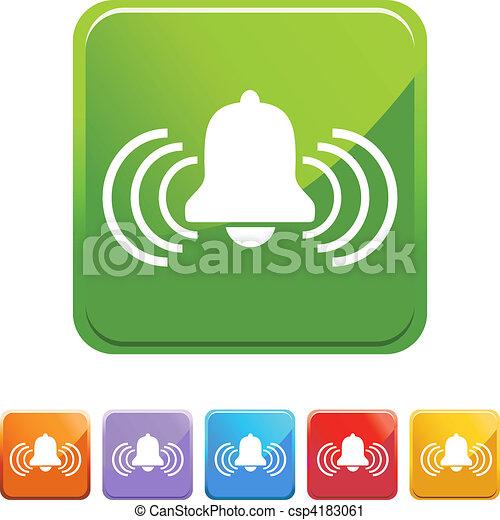 Alert Bell - csp4183061