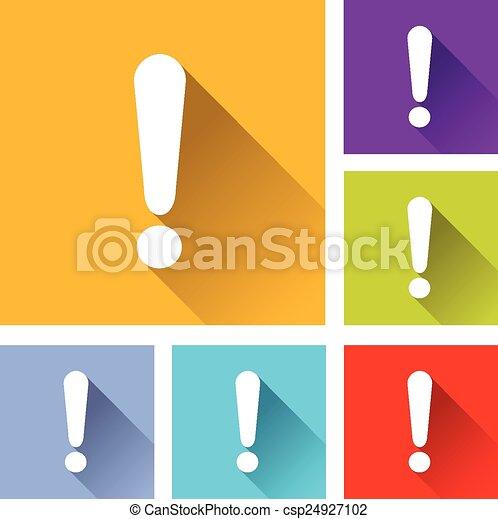 alert icons - csp24927102