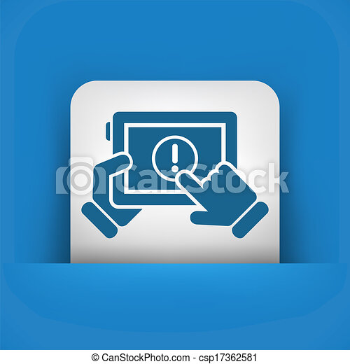 Alert mobile device - csp17362581