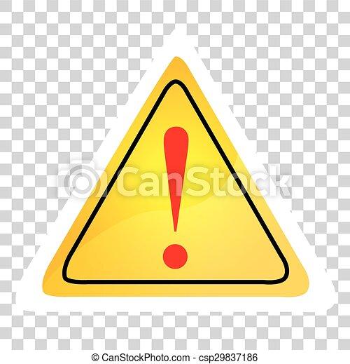 Alert Sign - csp29837186