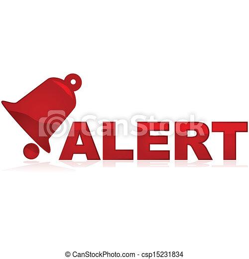Alert sign - csp15231834
