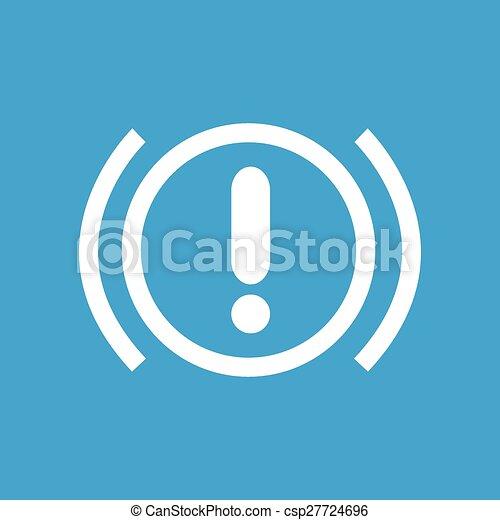 Alert sign icon - csp27724696