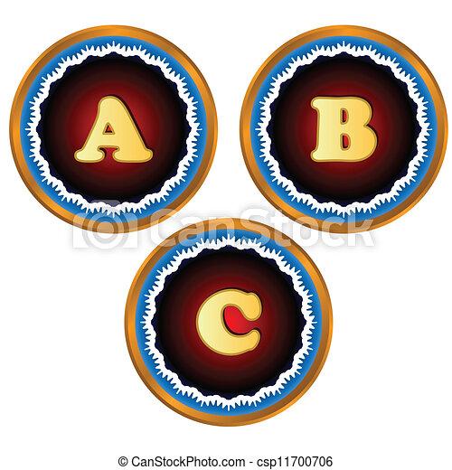 El alfabeto - csp11700706