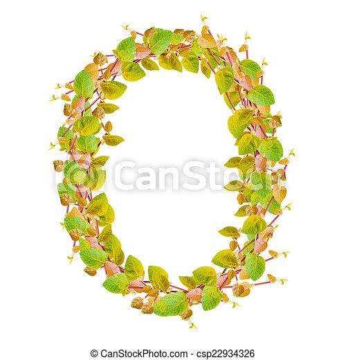 Alfabeto, hojas, verde, número, 0 clip art - Buscar imágenes de ...