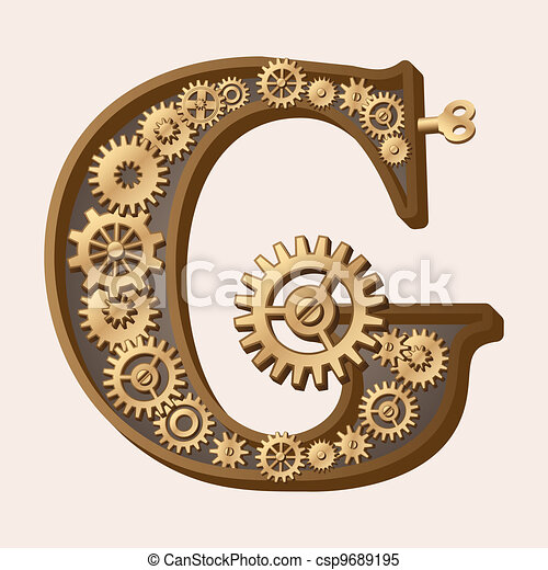 alfabeto mecánico - csp9689195
