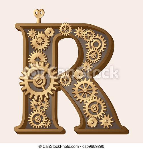 alfabeto mecánico - csp9689290