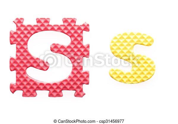 Alfabeto, s, cartas, coloreado, niños. Cartas, coloreado, alfabeto ...