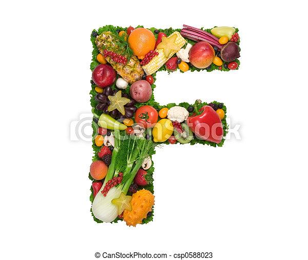 alfabeto, saúde - csp0588023