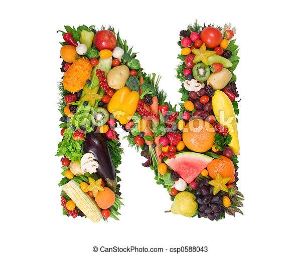 alfabeto, saúde - csp0588043