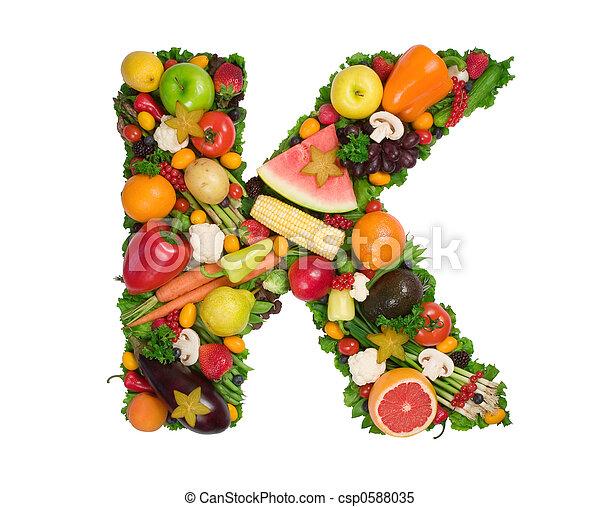alfabeto, saúde - csp0588035