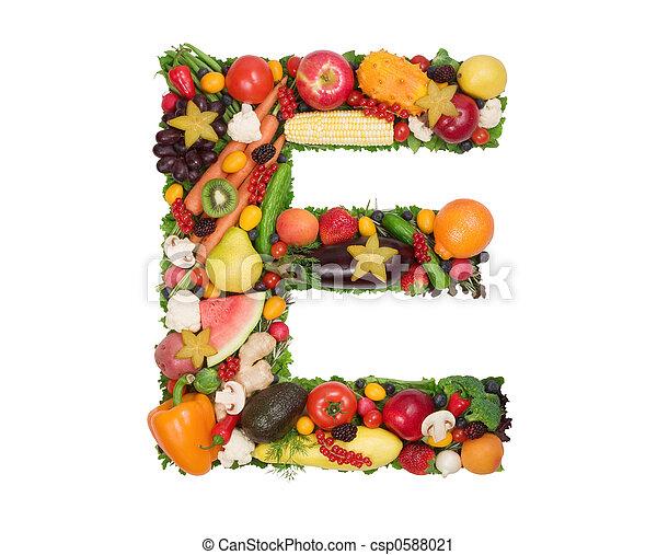alfabeto, saúde - csp0588021