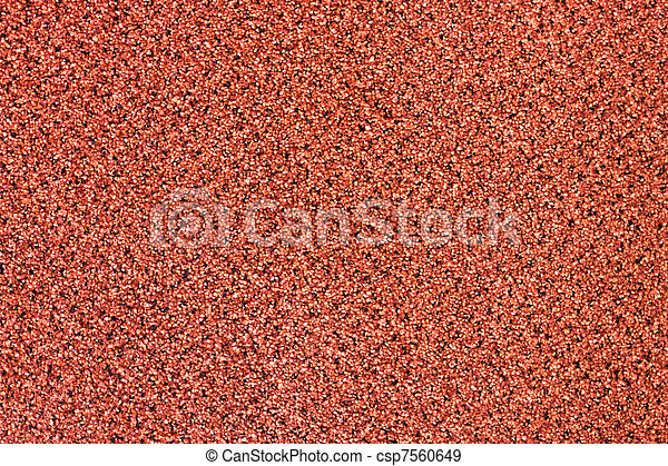 La alfombra roja texturó fondo - csp7560649