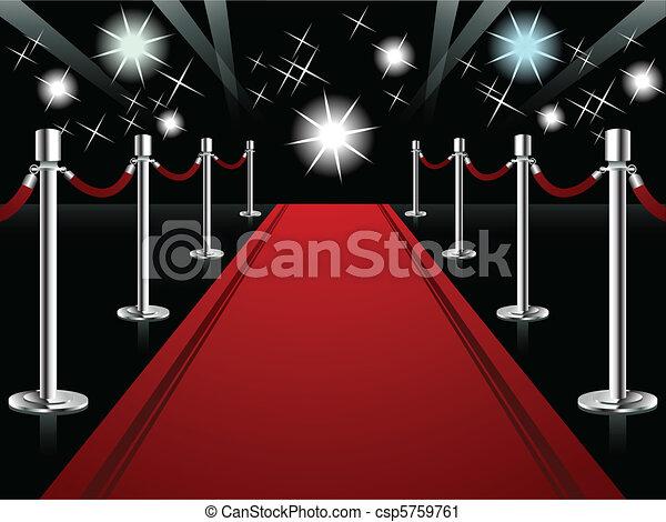 alfombra roja - csp5759761