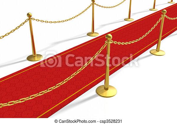 La alfombra roja - csp3528231