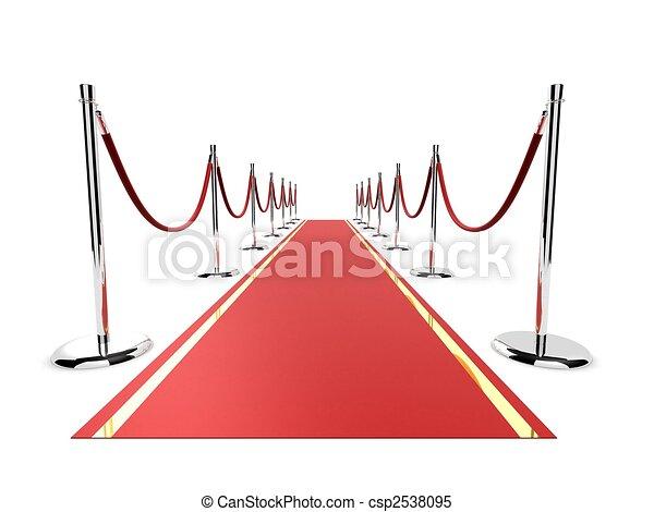alfombra roja - csp2538095