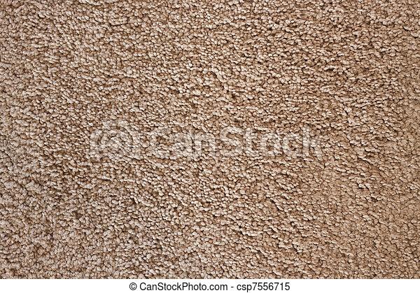 Una alfombra suave texturizada - csp7556715